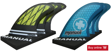 Manual Surfboard Finnen